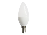ΛΑΜΠΑ LED CANDLE C35 E14 6W WARM WHITE