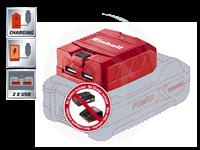 TE-CP 18 Li USB-SOLO ΕΠΑΝΑΦΟΡ/ΝΟΣ ΑΝΤΑΠΤΟΡΑΣ USB