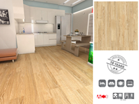LAMINATE 0207 OAK SUNSET AC3 ELEGANCE 7mm