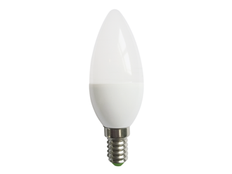 ΛΑΜΠΑ LED CANDLE 12MD 6W E14 230V  2700K 30000H