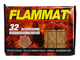 FLAMMAT ECO FIRELIGHTERS IN FOIL 32's