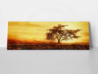 """ΠΙΝΑΚΑΣ 140x40cm ΠΑΝΟΡΑΜΙΚΟΣ """"AFRICAN TREE"""""""